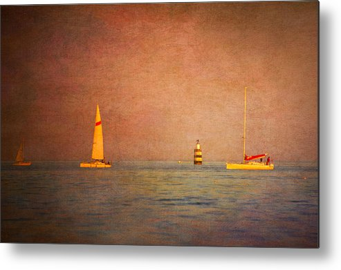 Loriental Metal Print featuring the photograph A Perfect Summer Evening by Loriental Photography