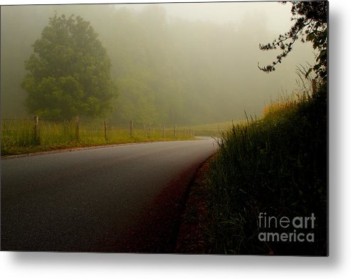 Cades Cove Metal Print featuring the photograph A Quiet Morning by Michael Eingle