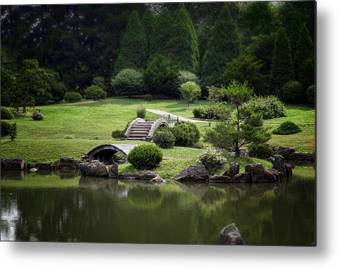 Arboretum Metal Print featuring the photograph A Walk In The Park by Tom Mc Nemar