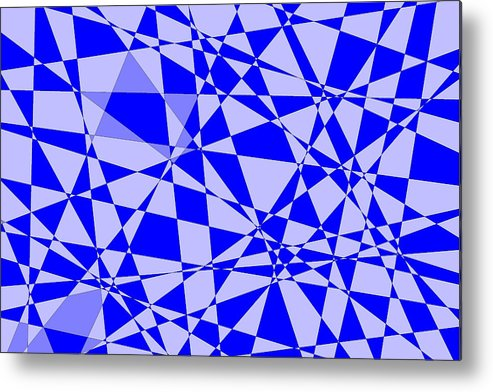 Original Metal Print featuring the digital art Abstract 151 by J D Owen