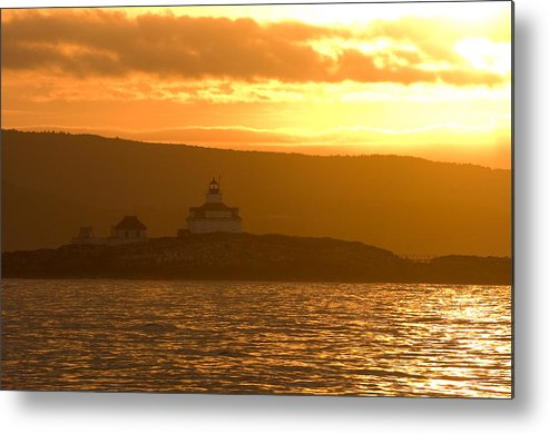 Acadia National Park Metal Print featuring the photograph Acadia Lighthouse by Sebastian Musial