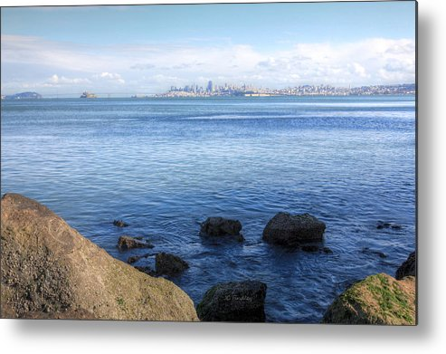 Bonita Point Metal Print featuring the photograph Across The Bay by JC Findley