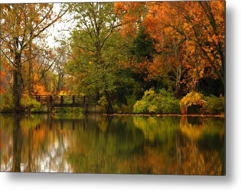 Lake Metal Print featuring the photograph Across The Lake by Lyle Hatch