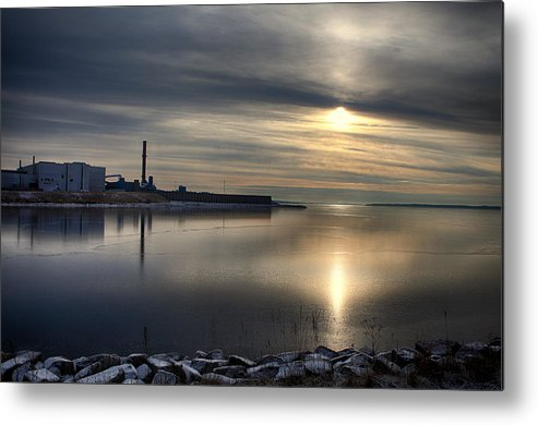 Landscape Metal Print featuring the photograph After Work by Kent Mathiesen