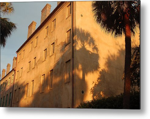 Charleston Metal Print featuring the photograph Afternoon Light by Suzanne Gaff