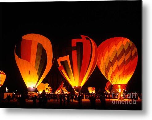 Albuquerque International Balloon Fiesta Metal Print featuring the photograph Albuquerque Balloon Festival by Mark Newman