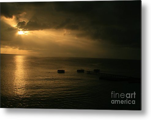 Agudilla Metal Print featuring the photograph Almost Dark by Kei Kei