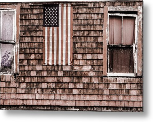 Steven Bateson Metal Print featuring the photograph American Colors Of Maine by Steven Bateson