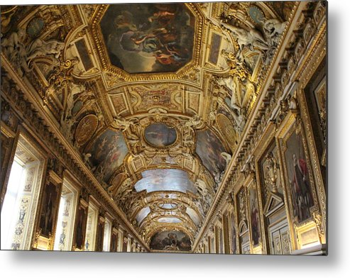 Paris Metal Print featuring the photograph Apollo Gallery by Nicholas Miller
