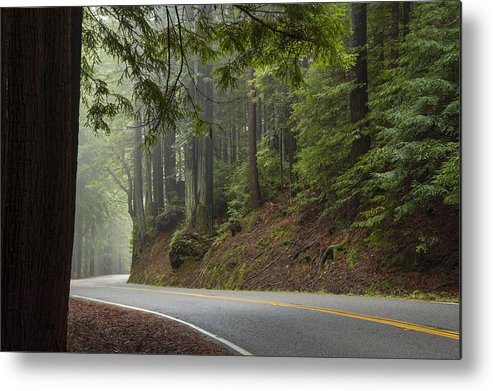 California Metal Print featuring the photograph Around The Bend by Dustin LeFevre