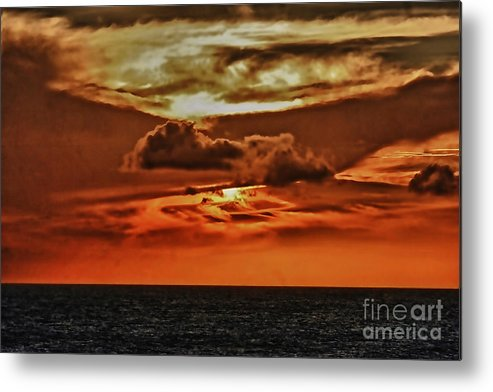Ocean Scene Metal Print featuring the photograph As Far As The Eye Can See by Tom Prendergast