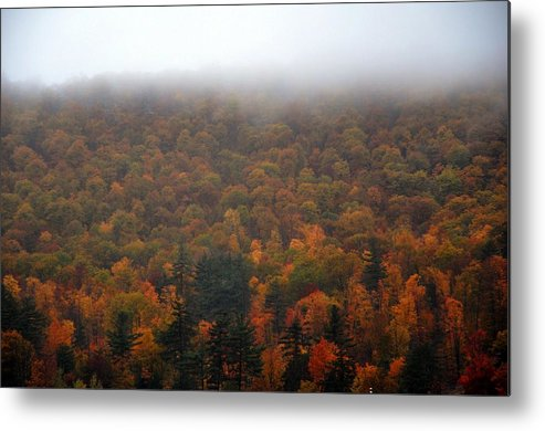 Autumn Metal Print featuring the photograph Autumn In New Hampshire by Phyllis Meinke