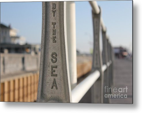 Beach Metal Print featuring the photograph Avon-by-the-sea by Suzanne Kelly