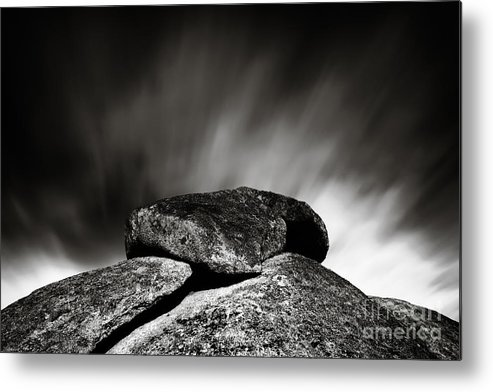 Landscape Metal Print featuring the photograph Balance by Simone Byrne Photography