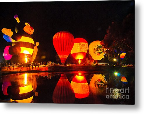 Balloon Fest Metal Print featuring the photograph Balloon Fest 2 by Larry White
