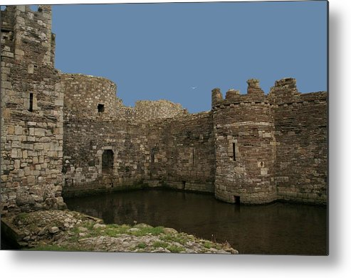 Castles Metal Print featuring the photograph Beamaris Castle by Christopher Rowlands