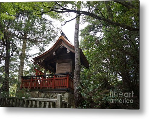 Japan Metal Print featuring the photograph Beautiful Shrine by Cassandra Buckley