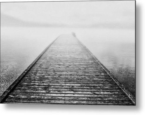 Fog Metal Print featuring the photograph Beauty Of The Fog by Thomas Berger