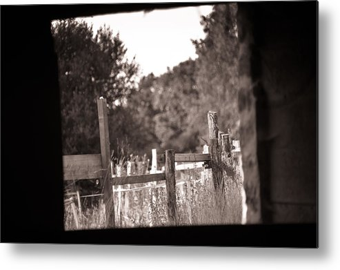 Loriental Metal Print featuring the photograph Beyond The Stable by Loriental Photography