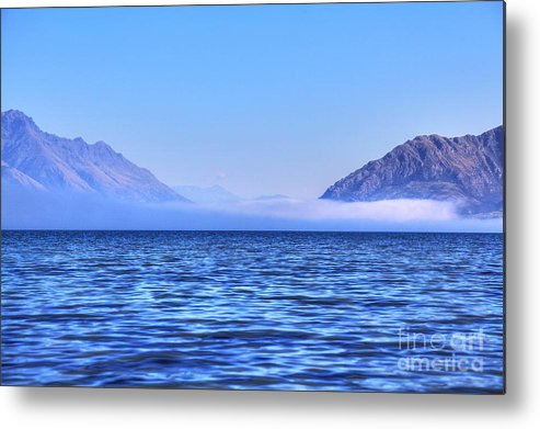 Cielo Metal Print featuring the photograph Big Lake In Newzealand by Fabian Roessler