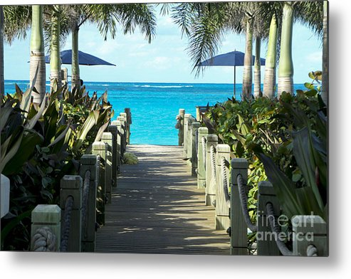 Vacation Metal Print featuring the photograph Bliss by Leslie Reitman