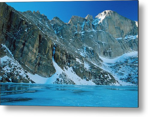 Landscapes Metal Print featuring the photograph Blue Chasm by Eric Glaser