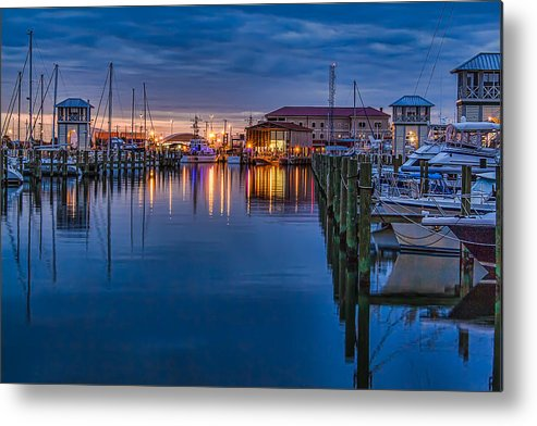 Beauty Metal Print featuring the photograph Blue Hour Beauty by Brian Wright