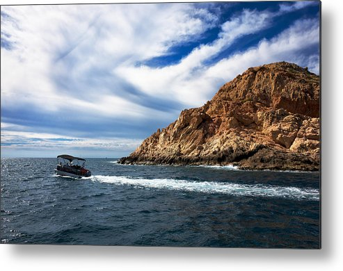 Cabo San Lucas Metal Print featuring the photograph Boating In Cabo by Eugene Kogan