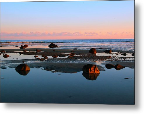 York Metal Print featuring the photograph Boulder Beach by Andrea Galiffi