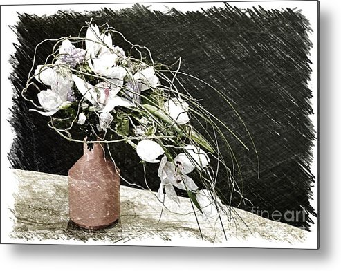 Bouquet Metal Print featuring the photograph Bouquet by Vladimir Sidoropolev