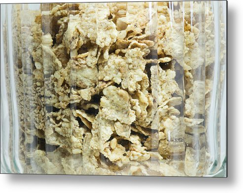Breakfast Metal Print featuring the photograph Breakfast Cereals by Frederick Kjorling