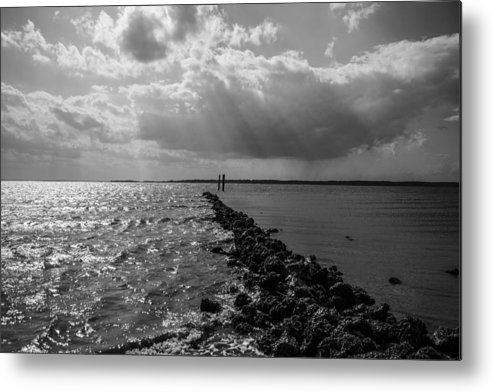 St Helena Metal Print featuring the photograph Breaking Divide by Steven Taylor