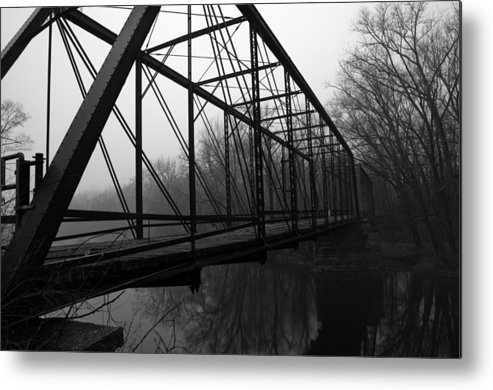 Bridge Metal Print featuring the photograph Bridge by Off The Beaten Path Photography - Andrew Alexander