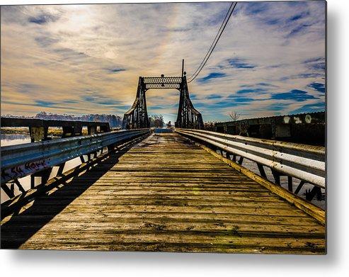 Bridge Metal Print featuring the photograph Bridge To No Where by Louis Dallara