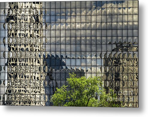 Buckhead Metal Print featuring the photograph Buckhead Reflections by Barbara Youngleson