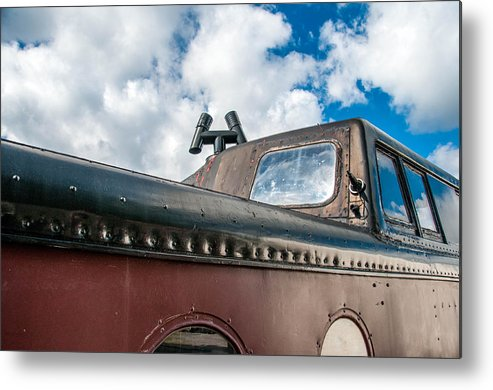 Guy Whiteley Photography Metal Print featuring the photograph Caboose Roof by Guy Whiteley