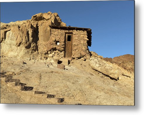 Calico Metal Print featuring the photograph Calico Ghost Town Silver Mine In San Bernadino California by Carol M Highsmith