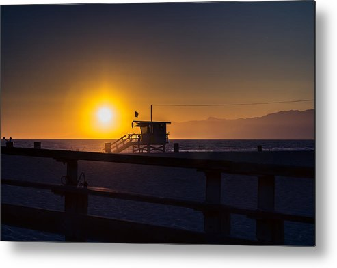 California Metal Print featuring the photograph California Sunset by Carlos Cano
