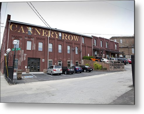 8th Avenue South Metal Print featuring the photograph Cannery Row by Karen Cowled
