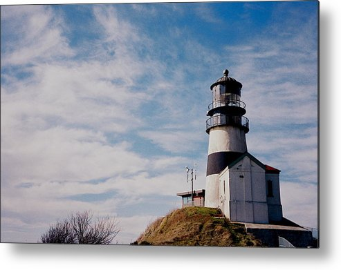 Ilwaco Metal Print featuring the photograph Cape Disappointment Lighthouse by Claire McGee