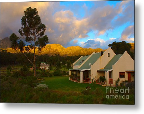 Western Cape Metal Print featuring the photograph Cape Sunset by Jeremy Hayden