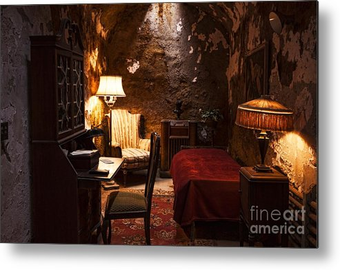 Al Capone Metal Print featuring the photograph Captive Luxury by Andrew Paranavitana