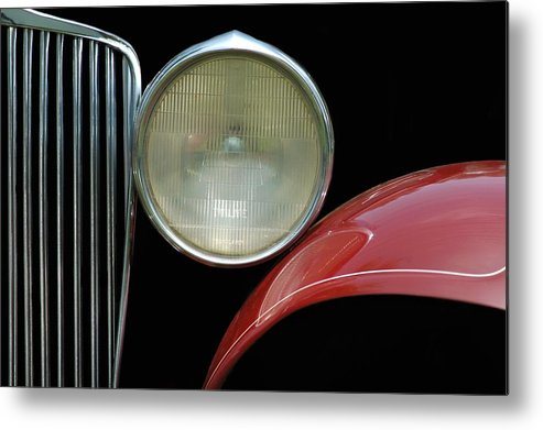 Car Metal Print featuring the photograph Car Parts by Dan Holm