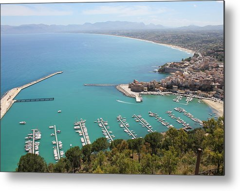 Castellammare Metal Print featuring the photograph Castellammare by Christine Rivers