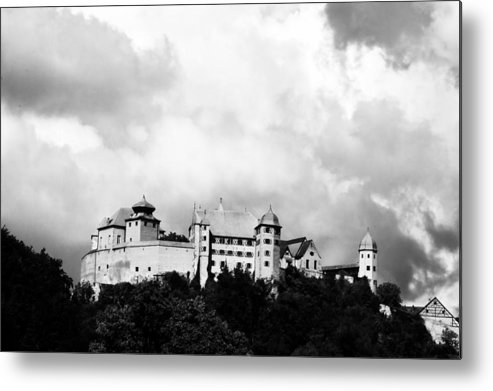 Castle Metal Print featuring the photograph Castle Harburg 2 by Pit Hermann