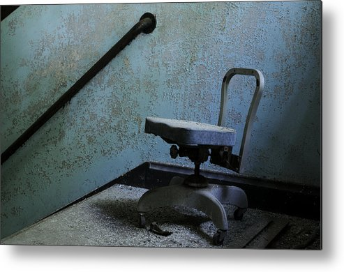 Abandoned Metal Print featuring the photograph Catatonic by Luke Moore