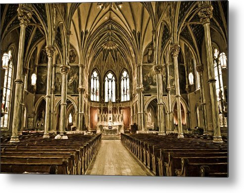 Savannah Metal Print featuring the photograph Cathedral by Bill Howard