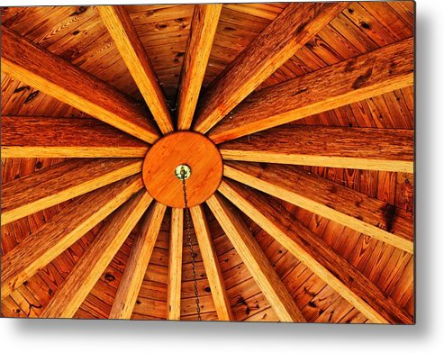 Ceiling Metal Print featuring the photograph Ceiling by Carolyn Ricks