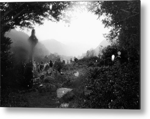 Graveyard Metal Print featuring the photograph Celtic Graveyard by Tim Townsend