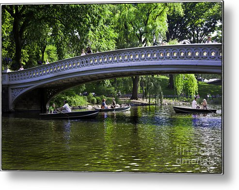 Central Park Metal Print featuring the photograph Central Park Day 2 by Madeline Ellis